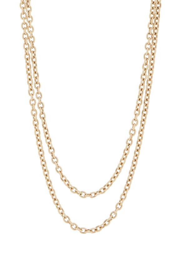 Sylva & Cie Yellow Gold Link Chain