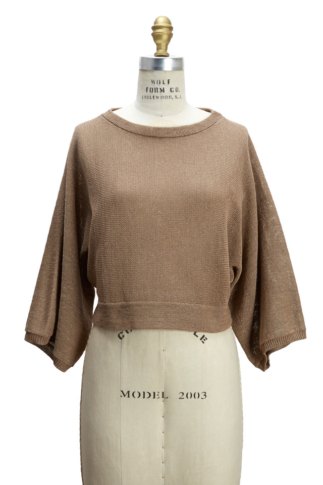 Biscotti Cotton & Lurex Pullover
