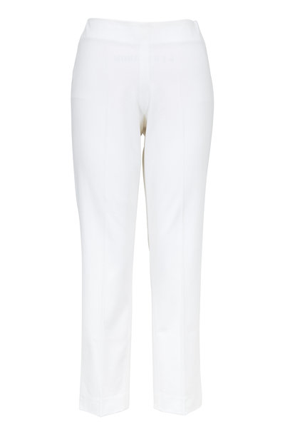Brunello Cucinelli - White Cotton Pant