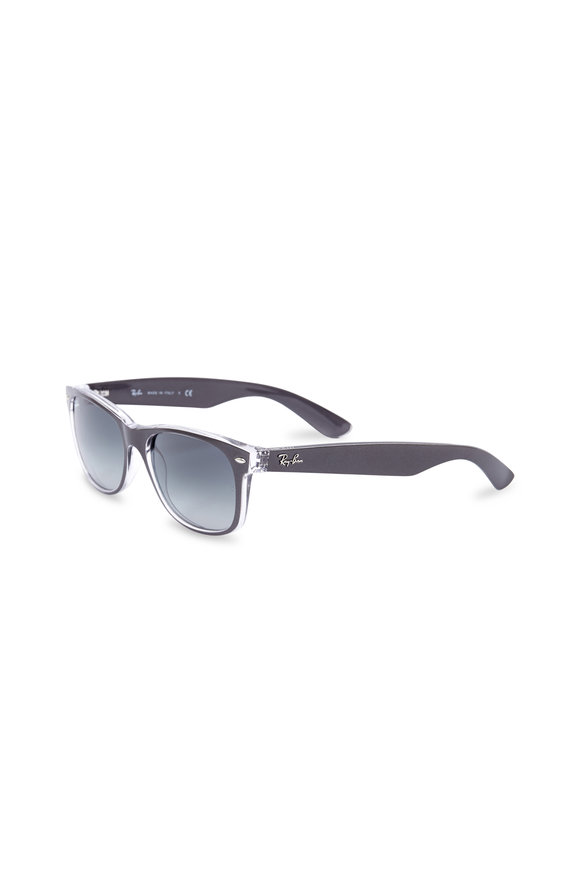 Ray Ban New Wayfarer Brushed Gunmetal Sunglasses
