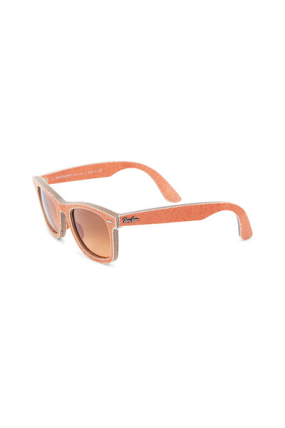 Ray Ban - RB 2140 Original Wayfarer Orange Denim Sunglasses
