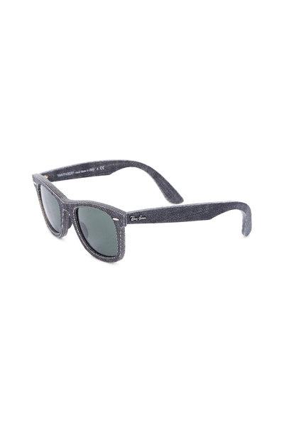 Ray Ban - RB 2140 Original Wayfarer Black Denim Sunglasses