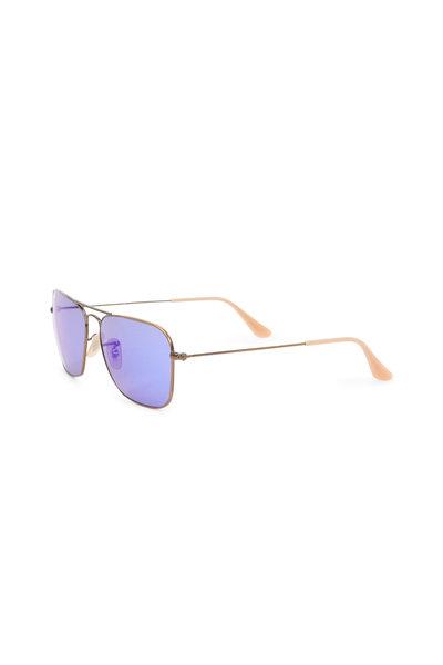 Ray Ban - Caravan Bronze-Copper Sunglasses