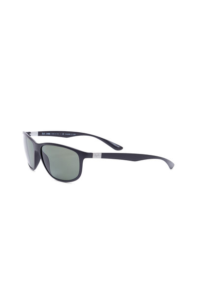 Ray Ban - Tech Matte Black Polarized Sunglasses