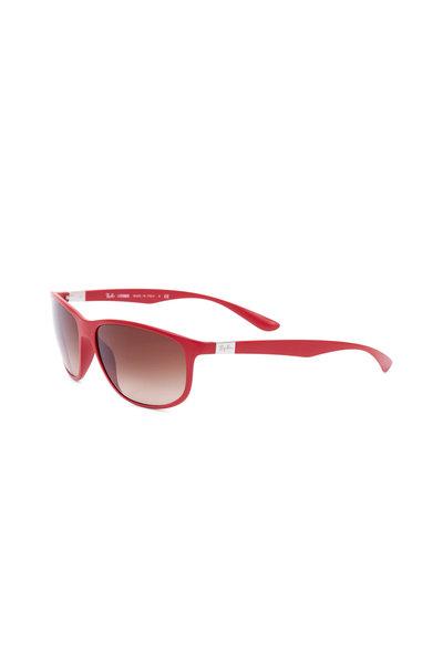 Ray Ban - Tech Matte Red Polarized Sunglasses