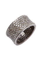 Loren Jewels - Gold & Silver White Diamond Band