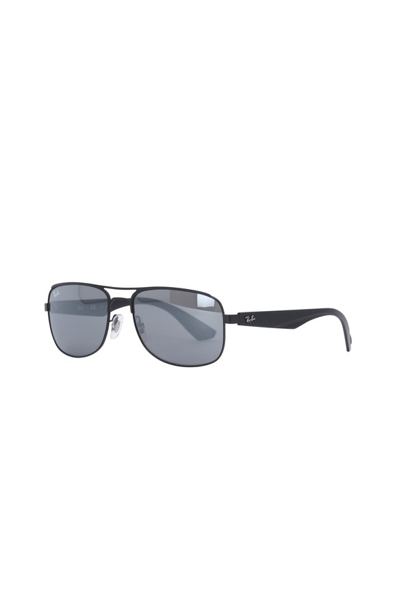 Ray Ban Highstreet Silver Mirror Sunglasses