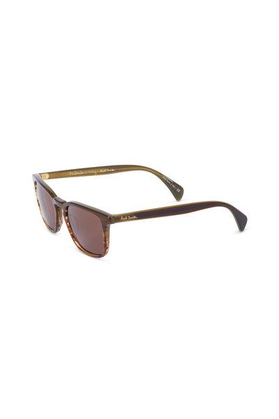 Paul Smith - Shawbury Olive Tortoise Sunglasses