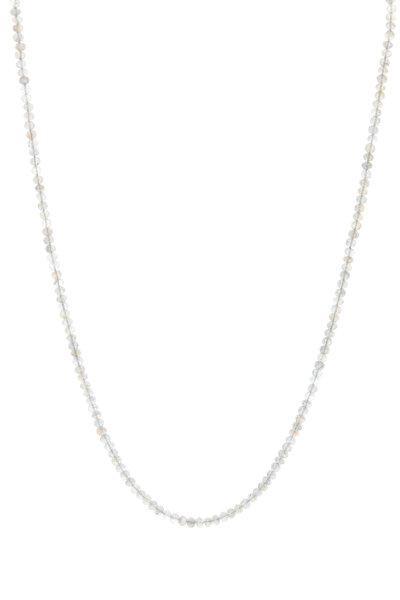 Caroline Ellen - Faceted Labradorite Gemstone Necklace