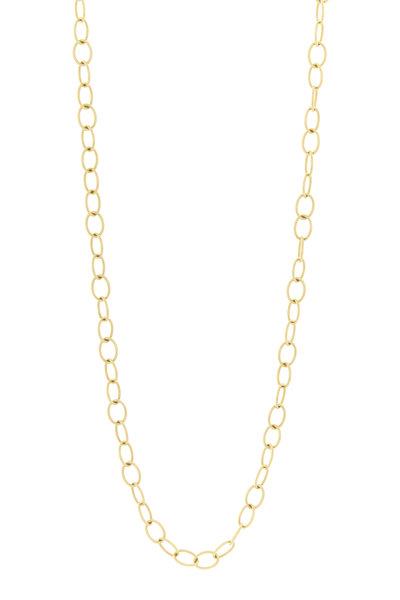 Caroline Ellen - 20K Yellow Gold Handmade Chain Necklace