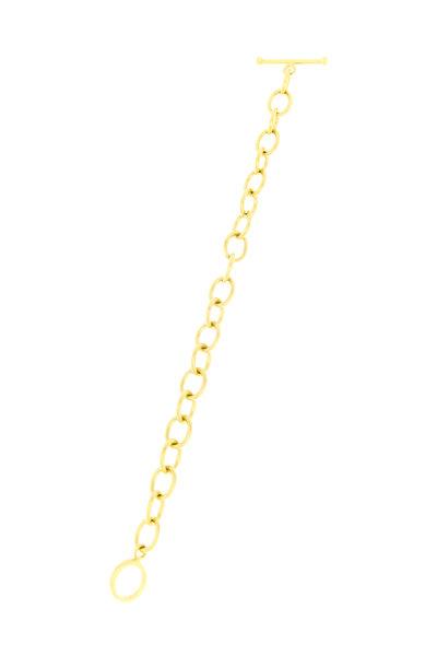Caroline Ellen - 20K Yellow Gold Handmade Chain Bracelet