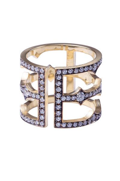 Sylva & Cie - Diamond Cage Ring