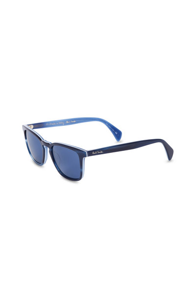 Paul Smith - Shawbury Navy Blue Horn Sunglasses