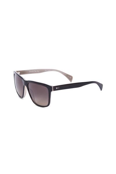 Paul Smith - Kingsmill Black Horn Polarized Sunglasses