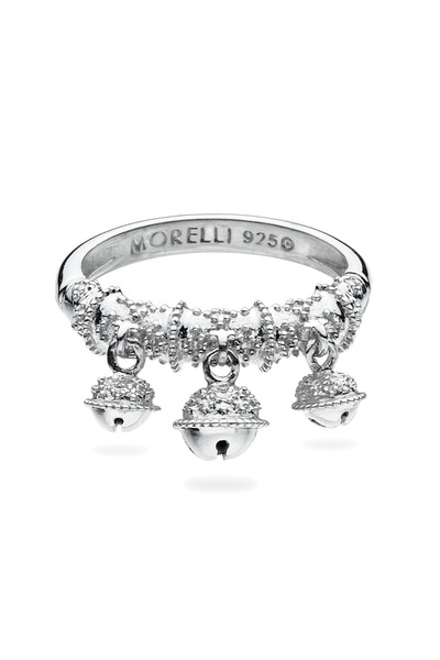 Paul Morelli - Sterling Silver Three Bell Cluster Ring
