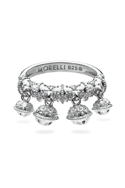 Paul Morelli - Sterling Silver Four Bell Cluster Ring
