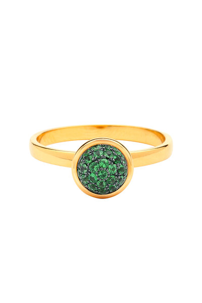 Syna - Baubles Yellow Gold Tsavorite Ring