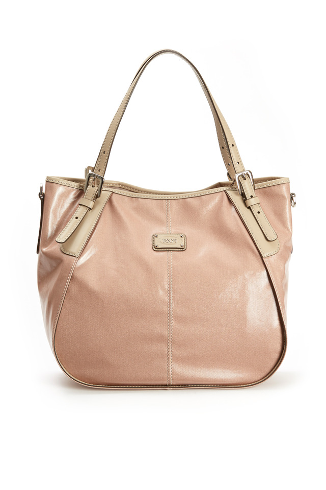 G-Line Sand Coated Canvas Leather Handbag