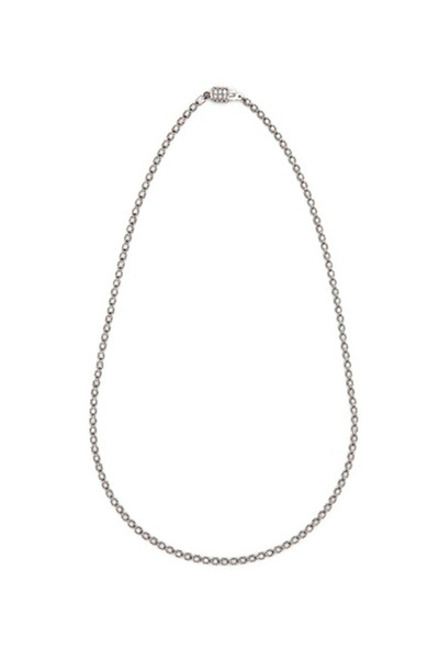 Paul Morelli - White Gold Four Sided Diamond Necklace