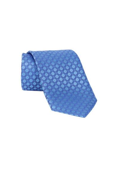 Ermenegildo Zegna - Blue Diamond Silk Necktie