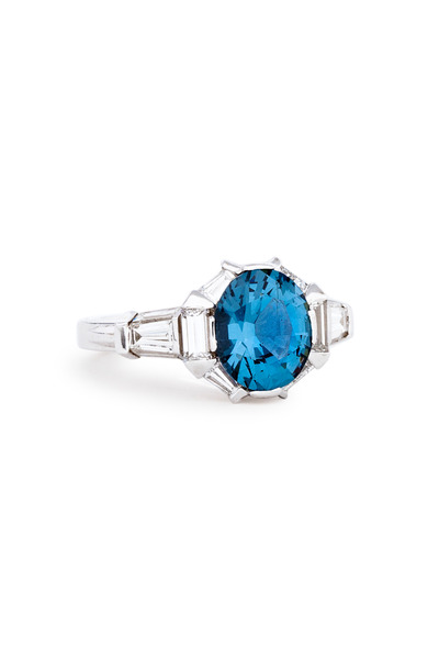 Paul Morelli - Blue Spinel Ring
