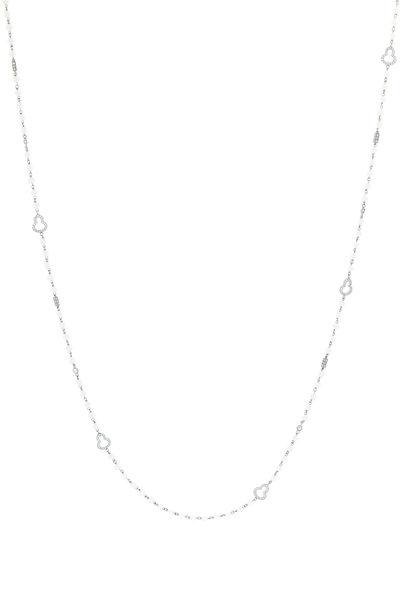 Eclat - Freshwater Pearl & Diamond Necklace