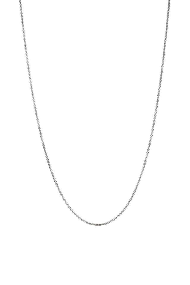 Meditation Bells Sterling Silver Chain Necklace