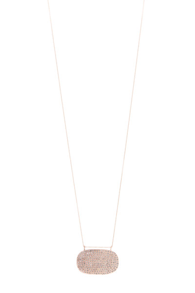 Tulah Jem - Gold White Diamond Necklace