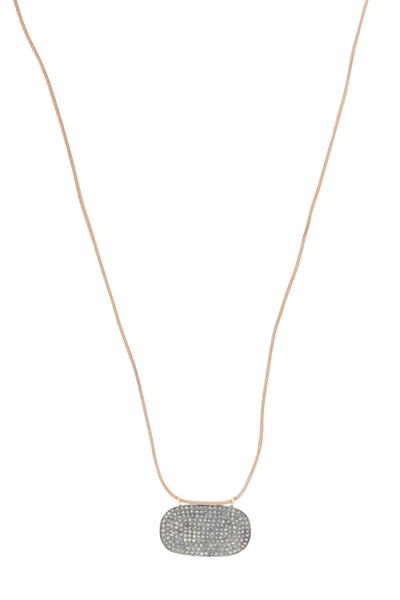 Tulah Jem - Pavé Diamond Necklace