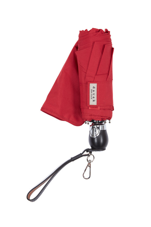 Davek  Red Traveler Umbrella