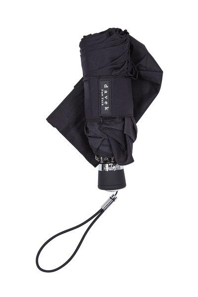 Davek - Black Nylon Mini Umbrella