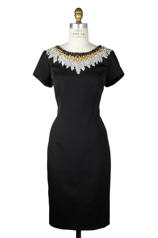 Black Crepe Dress