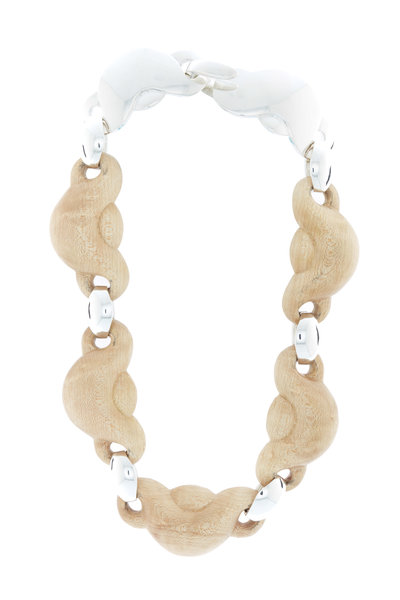Patricia von Musulin - Sterling Silver Maple Link Necklace