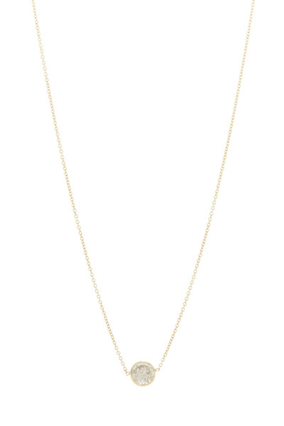 Renee Lewis - Yellow Gold Diamond Necklace