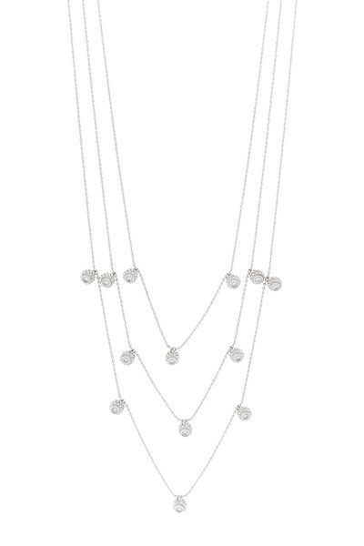 Renee Lewis - Yellow Gold Antique Diamond Necklace