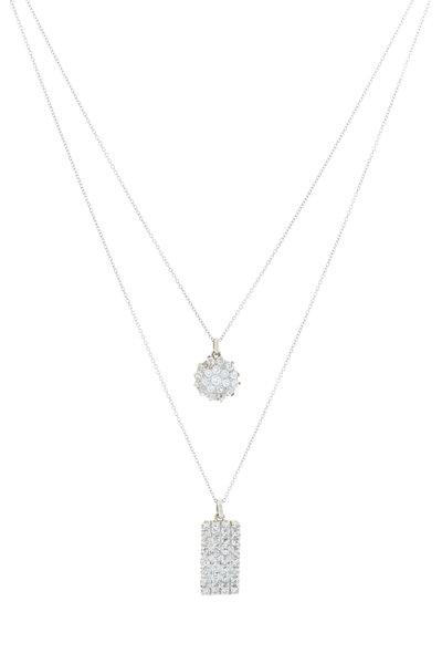 Renee Lewis - White Gold Antqiue Diamond Necklace
