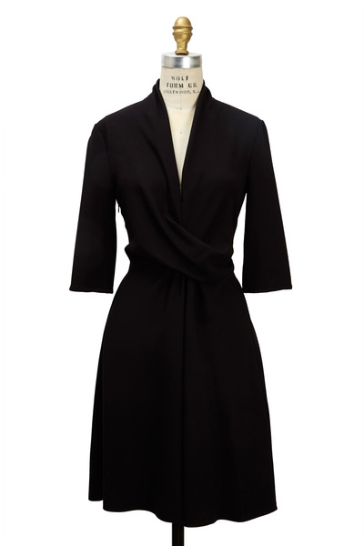 Giorgio Armani - Black Jersey Dress