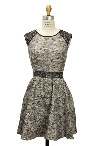 Rachel Zoe - Marley Metallic Tweed Dress