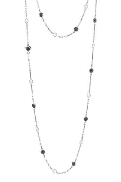 Oscar Heyman - Platinum Diamond By The Yard Necklace