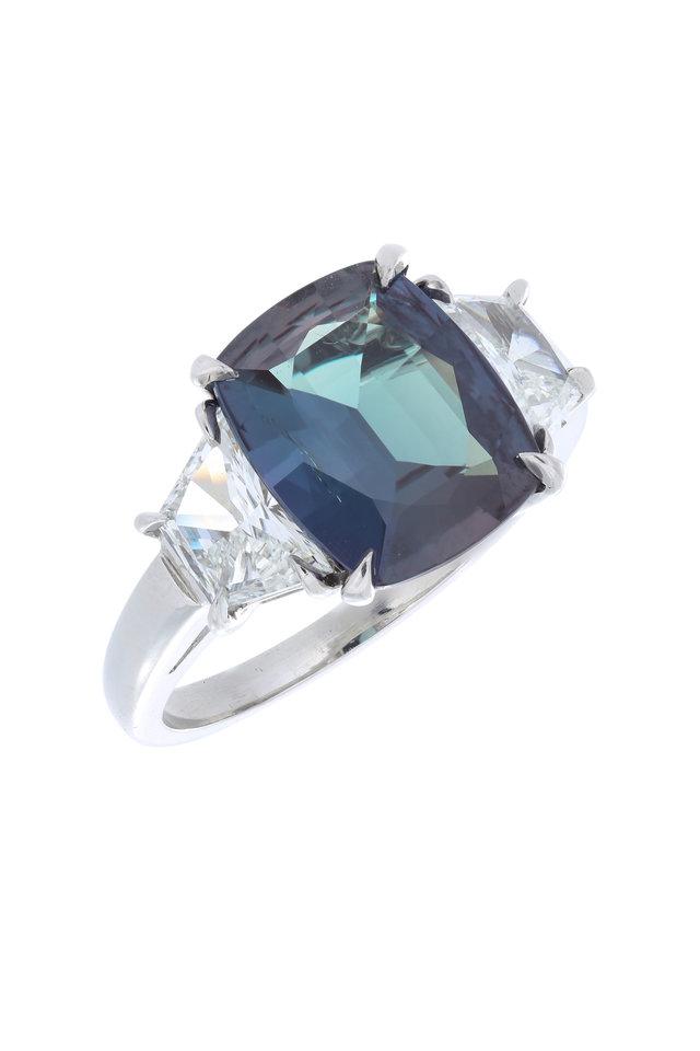 Platinum Diamond Cocktail Ring