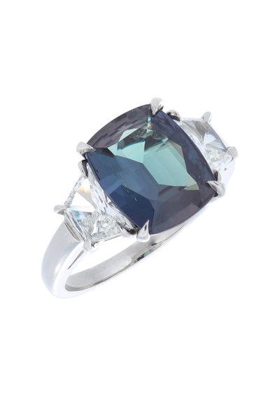 Oscar Heyman - Platinum Diamond Cocktail Ring