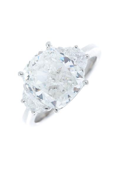 Louis Newman - White Diamond Bridal Ring