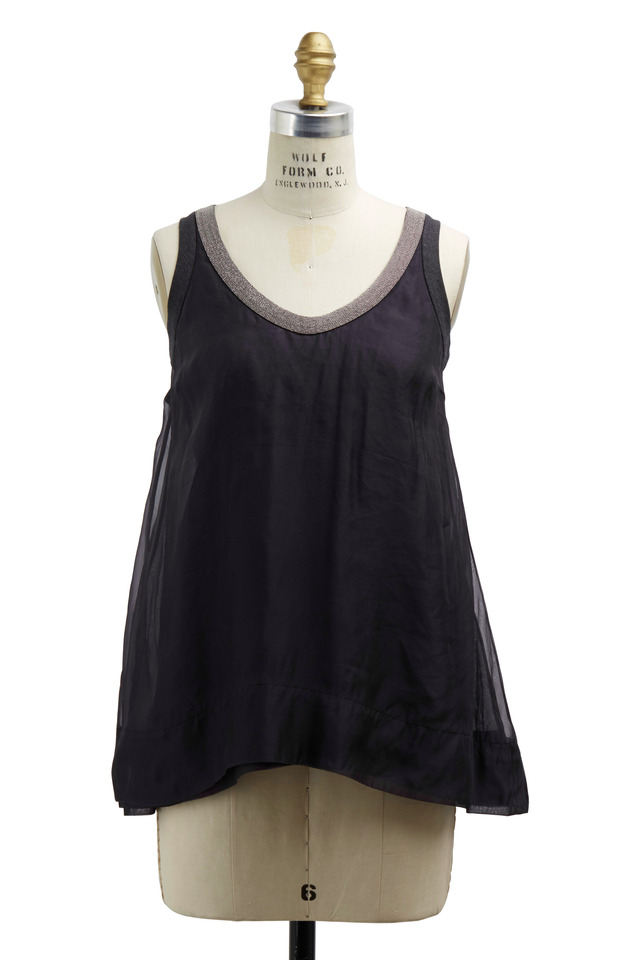 Volcano Silk Monili Tank Top