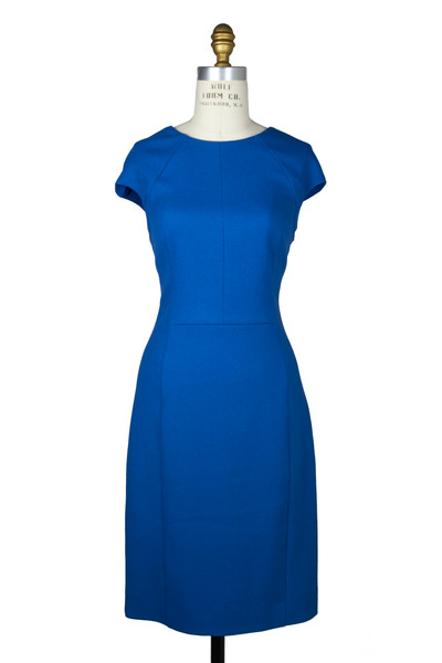 Oscar de la Renta - Royal Blue Dress