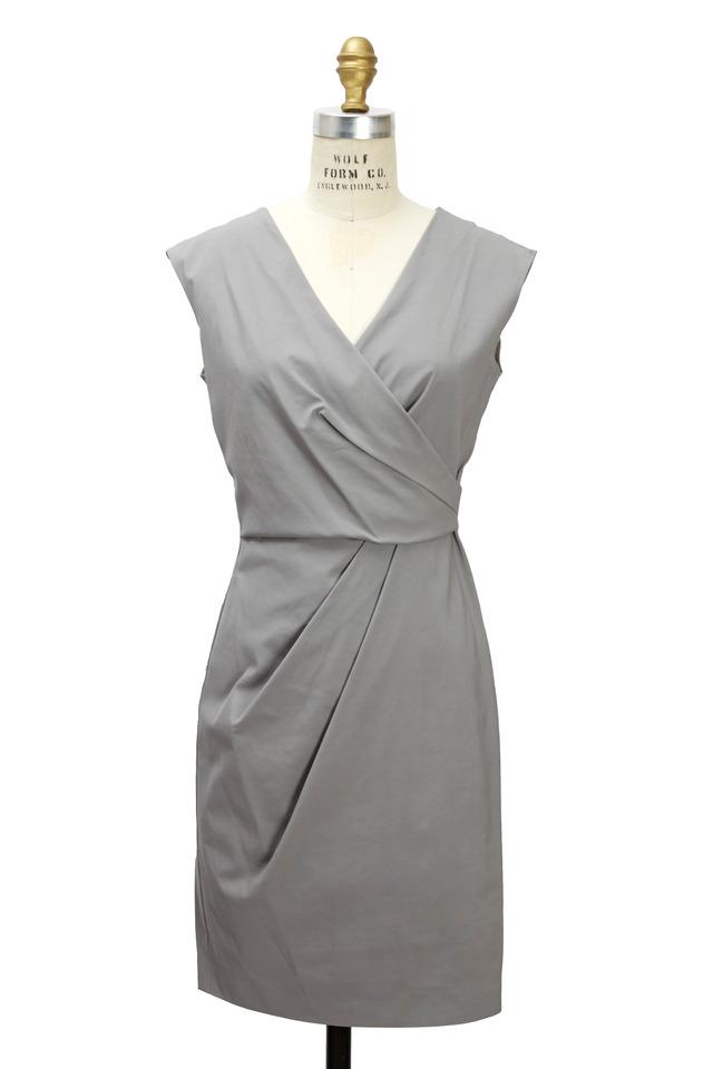 Grey Viscose Dress