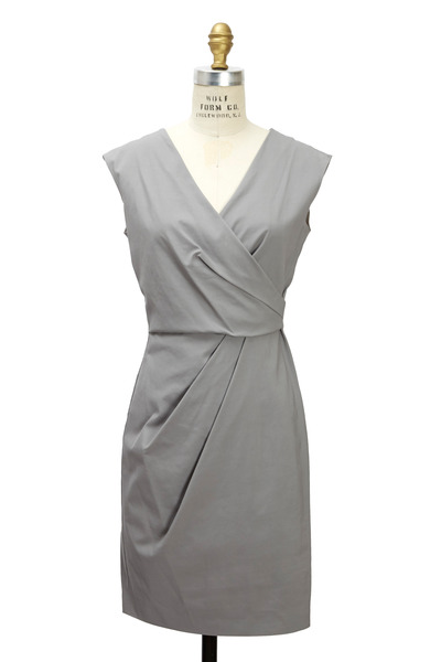Emporio Armani - Grey Viscose Dress