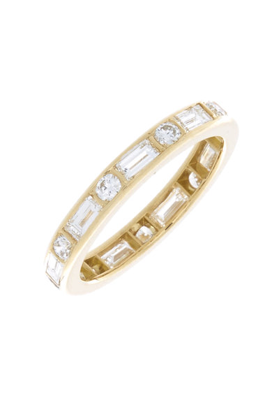 Oscar Heyman - Yellow Gold Diamond Guard Ring