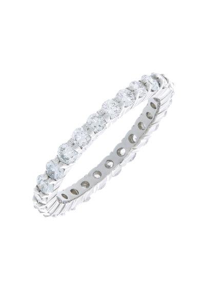 Oscar Heyman - Platinum Diamond Band