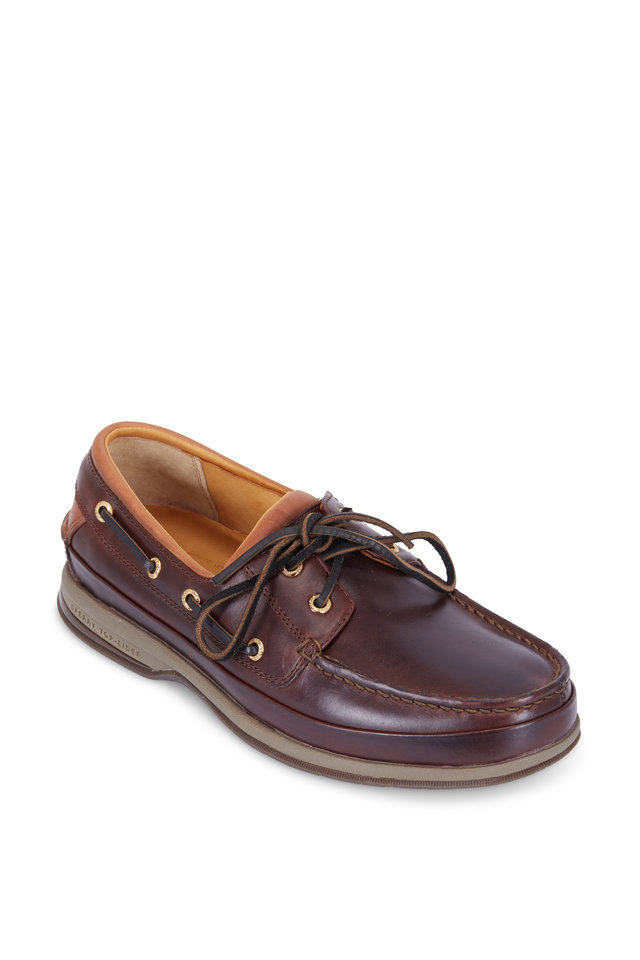 Gold Cup Dark Brown Boat Shoe