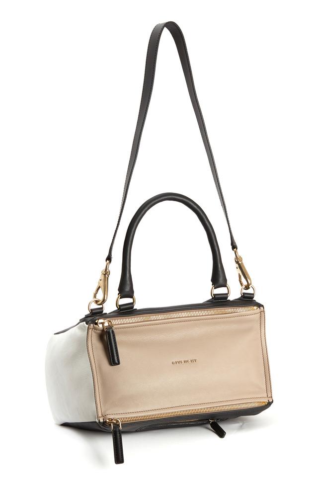 Tricolor Pandora Handbag